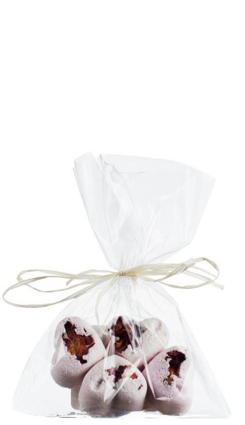 Geraniu & Trandafiri - inimioare efervescente pentru unghii si cuticule
