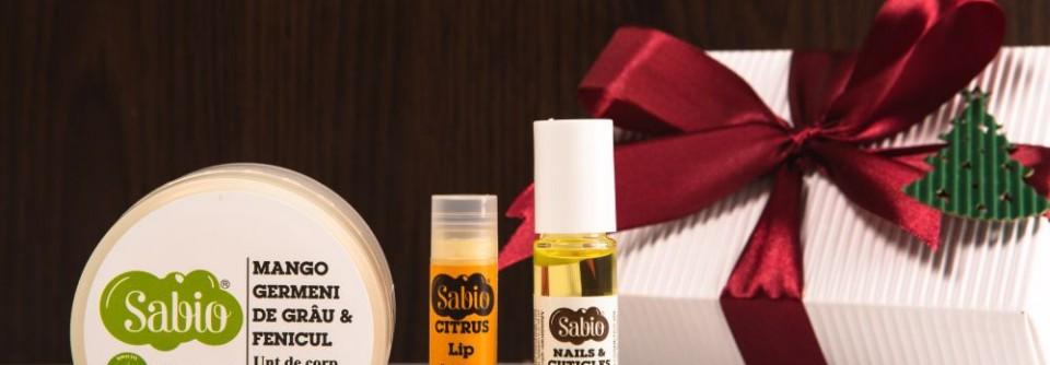 pachet cosmetice cadou Craciun- Natural White Box