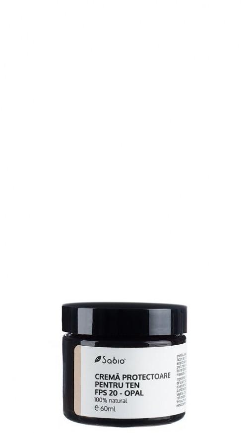 Crema naturala pentru ten cu factor de protectie solara - FPS20 Opal