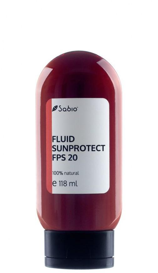 Fluid Sunprotect - factor de protectie solara -FPS 20