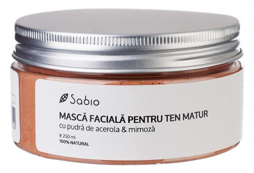 Masca faciala cu Acerola si Mimoza pentru remineralizarea tenului uscat