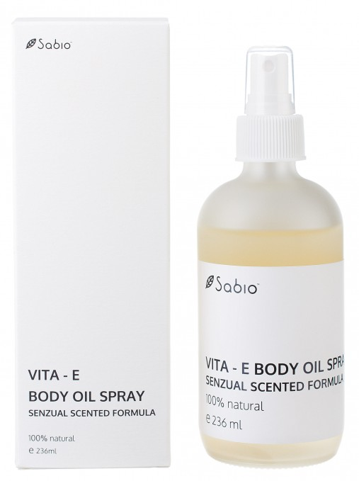 Ulei parfumat hidratant Vita-E-Body Oil Spray Sabio