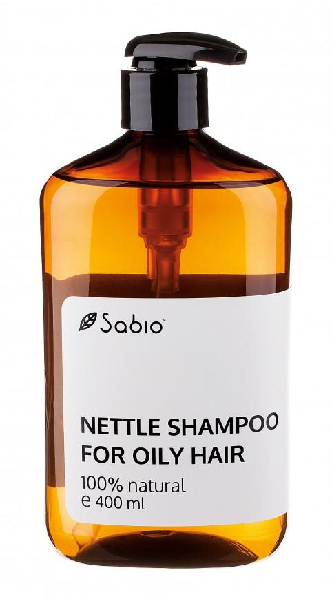 Sampon lichid cu urzica pentru par gras Sabio Nettle Shampoo