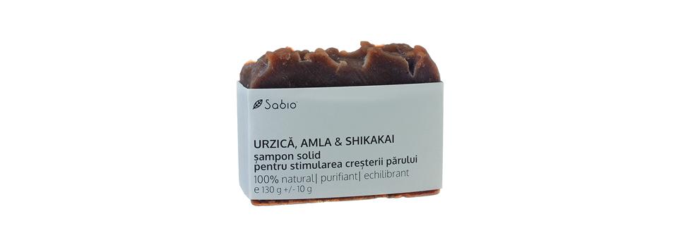 Sampon solid impotriva caderii parului cu ingrediente naturale