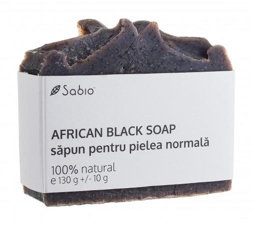 Sapun natural pentru pielea normala African Black Soap Sabio