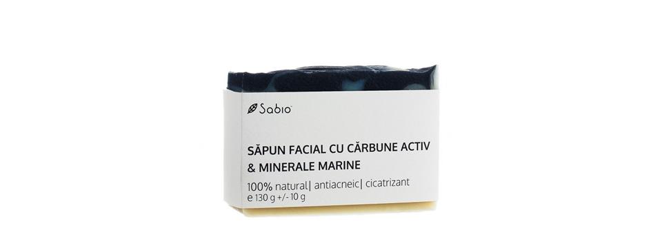 Sabio banner sapun carbune activ sfaturi acnee