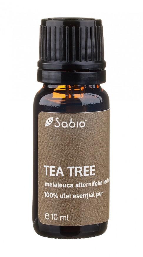 Tea tree ulei esential pur de arbore de ceai Sabio Cosmetics