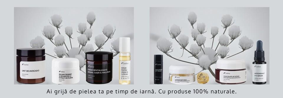 Cosemtice naturale pentru ingrijirea pielii iarna