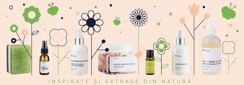 Sabio cosmetice naturale primavara 2017