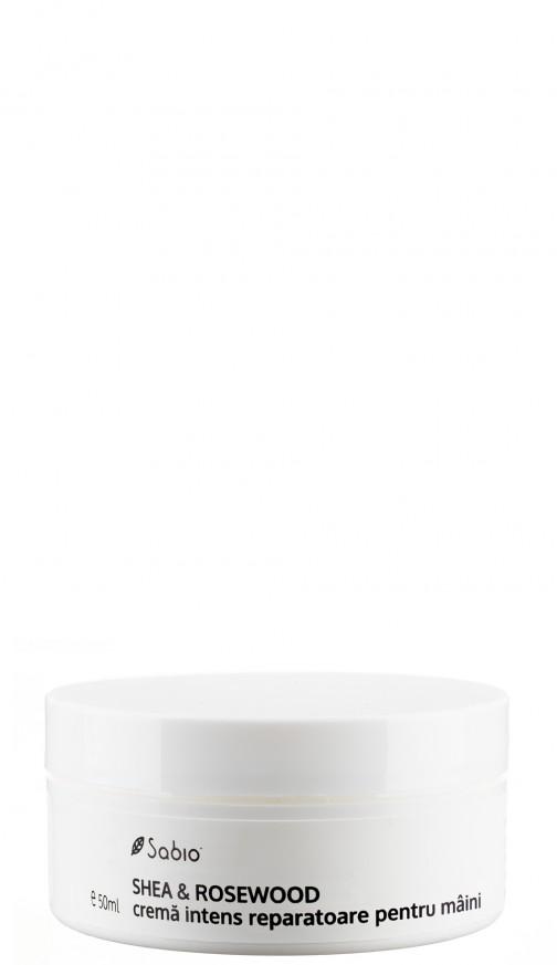 Crema intens reparatoare pentru maini SHEA & ROSEWOOD