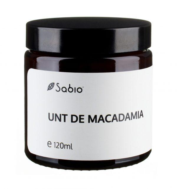 Unt de macadamia Sabio Cosmetics