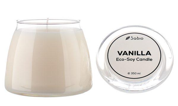 Lumanare Naturala Premium ECO-SOY Vanilla 350ml