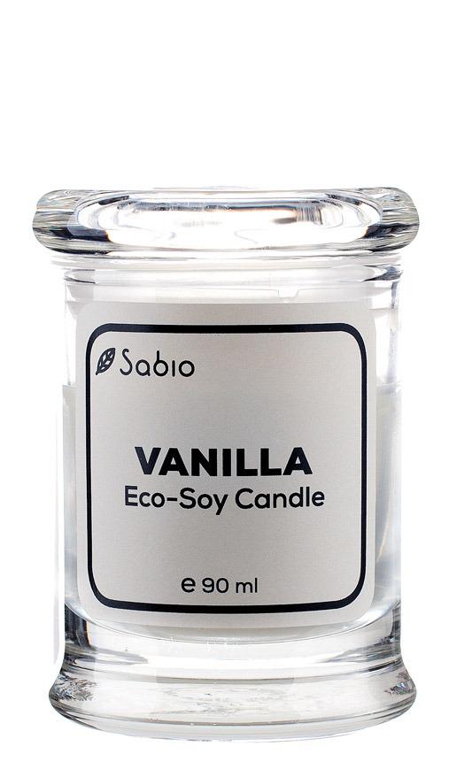 Lumanare Naturala Premium ECO-SOY Vanilla 90ml