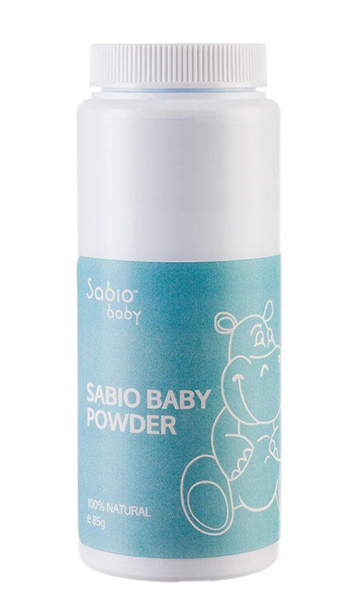 Pentru pentru bebelusi cu ingrediente naturale, fara talc, Sabio Baby Powder