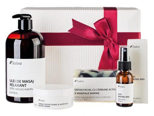 Cadou Craciun pentru barbati cosmetice naturale Luxury set for him