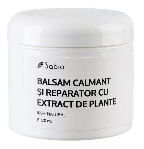 Balsam calmant si reparator cu extract plante Sabio