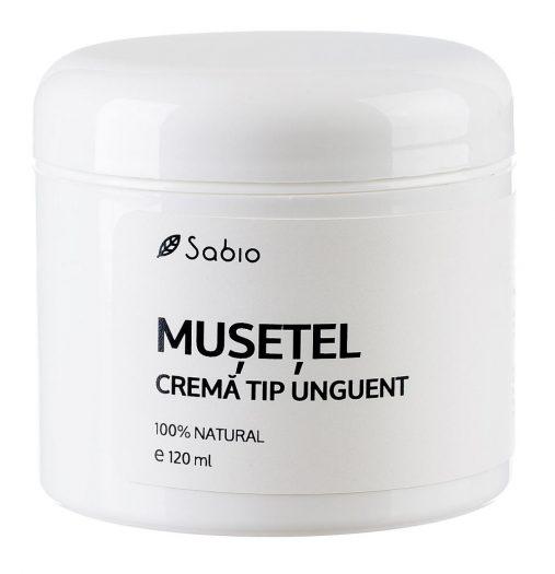 Musetel - unguent antiseptic, antiinflamator, cicatrizant Sabio