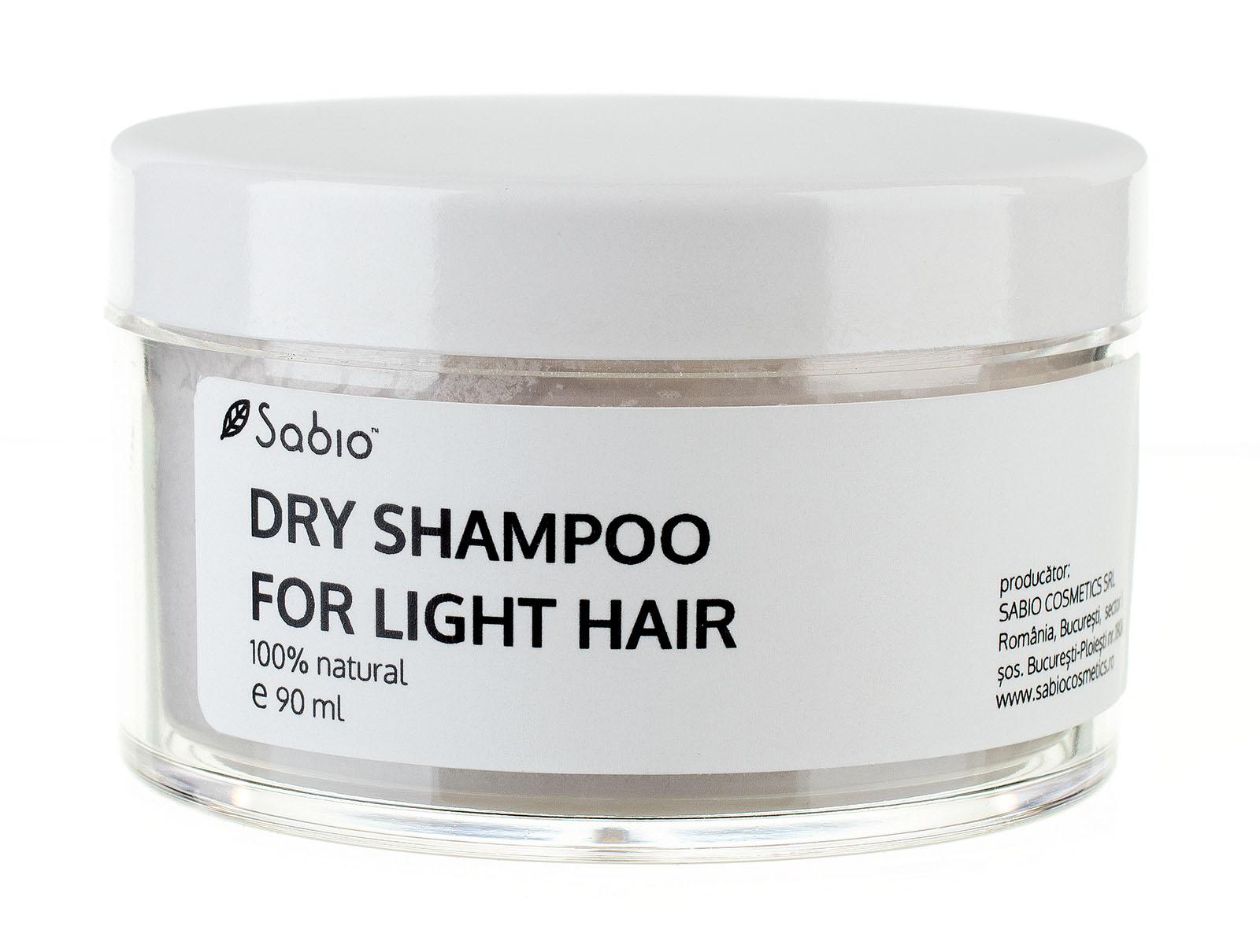 șampon Uscat Pentru Păr Blond Sabio Cosmetics