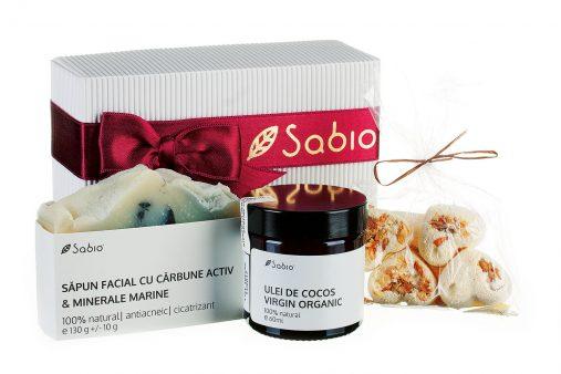 Cadoul de Craciun - pachetul cosmetice naturale - CURATARE si HIDRATARE