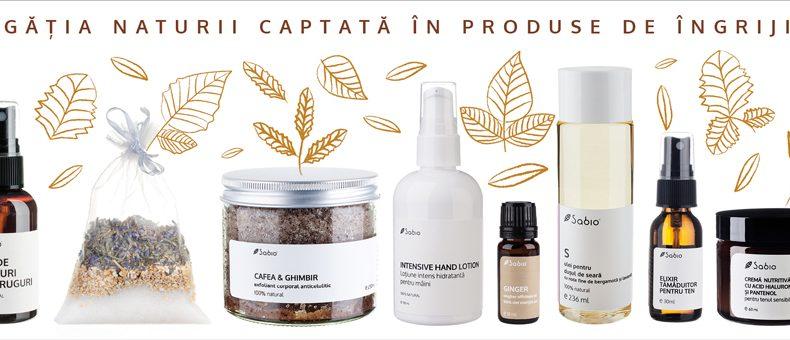 Cosmetice naturale de toamna Sabio Cosmetics