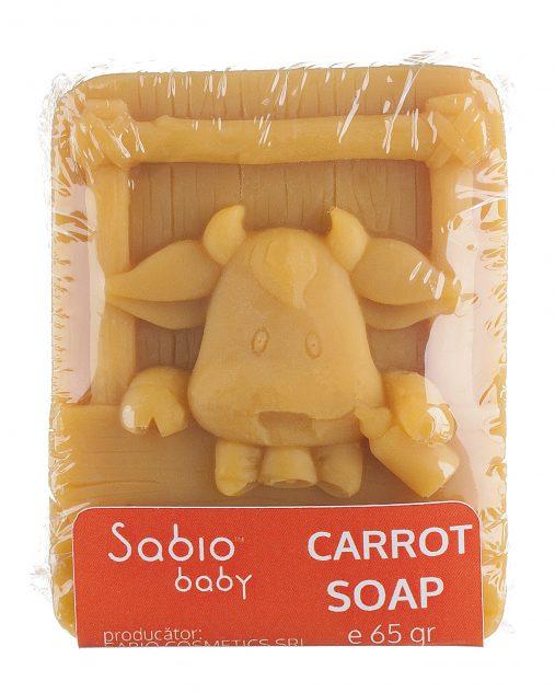 Sapun bebelusi cu morcovi Sabio Baby Carrot Natural