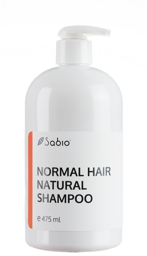 Sampon Natural Lichid pentru Par Normal - 475 ML