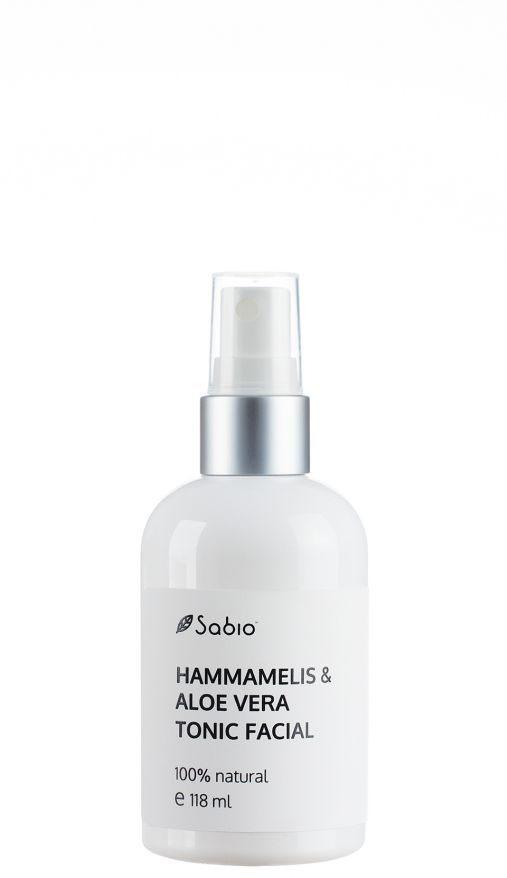 Tonic Facial Aloe Vera si Hammamelis - 118 ML