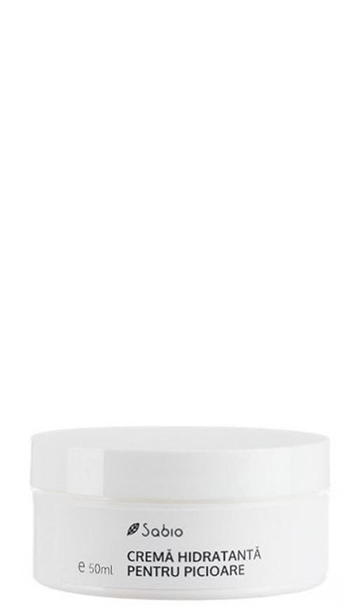 Crema hidratanta pentru picioare Sabio Natural