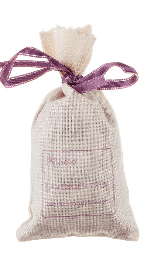 Saculet parfumat antimolii cu lavanda naturala Sabio