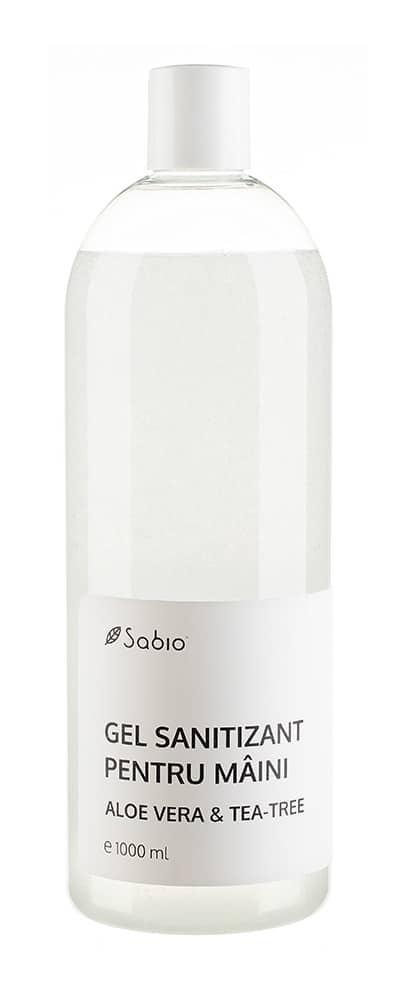 Gel Sanitizant dezinfectant pentru maini 400ml Sabio
